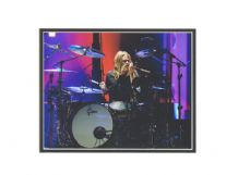 Taylor Hawkins Autograph Signed Photo - Foo Fighters